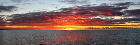 Sunrise off Shoreham