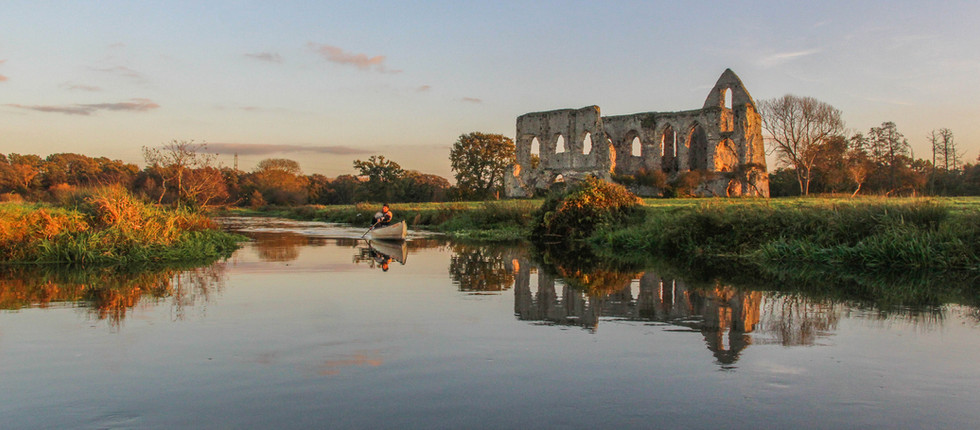 Newark Priory, River Wey, Surrey