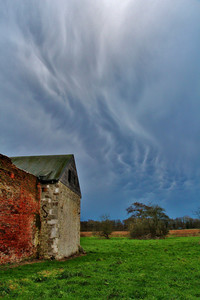 Storm Clouds over Woking Palace