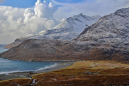 Camasunary, bothy, skye, walking, winter