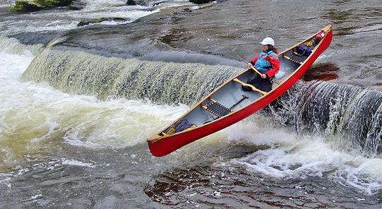 River Usk ledge drop