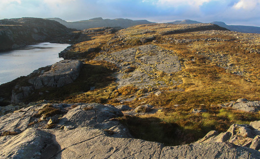 Evening light in the Rhinogs