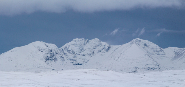 Mighty An Teallach in winter