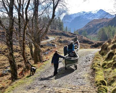 Portage (attempt) to Fionn Loch