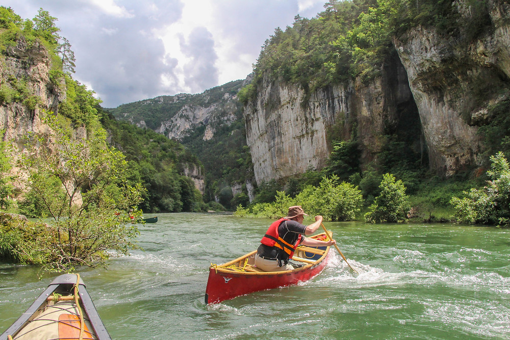 Canoeing the Gorges du Tarn