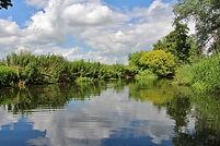 St Patrick's Stream, canoeing, Thames, Lower Shiplake, Loddon