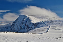Beinn Dearg, Ullapool, winter, walking