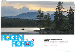 canoeing, Rogen, Roros, Norway, The Paddler Magazine, part 2, Mal Grey