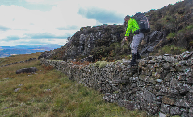 Taking the wall in stile?