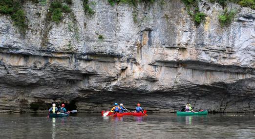 Limestone scenery, Gorges du Tarn