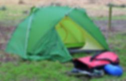 Camping equipment, Vaude Invenio tent