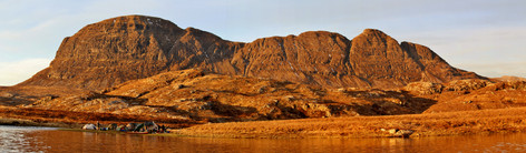 Suilven, from a wonderful wild camp by the Uidh Fhearna