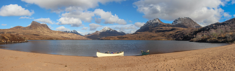 Loch Lurgainn Panorama