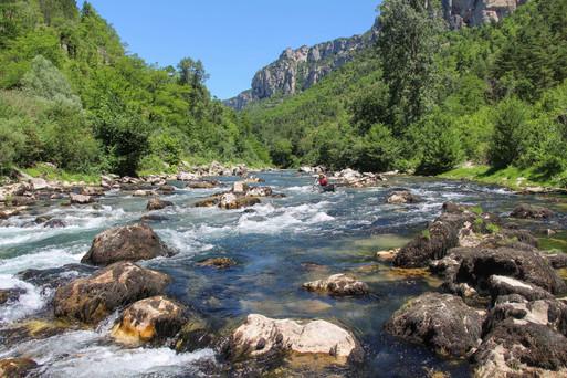 La Sabliere rapid, Gorges du Tarn