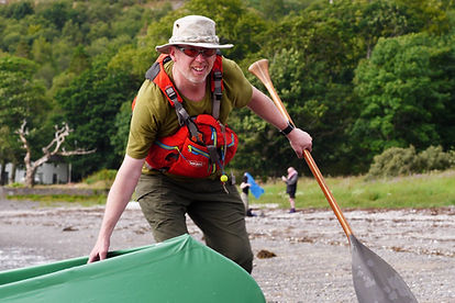 Mal Grey, canoeist, hillwalker, photographer, writer