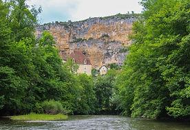 canoeing, cele, France, Sauliac