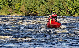 canoeing, river spey, camping, blackboats, washing machine