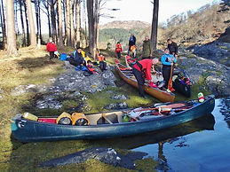 Canoeing, Loch Shiel Circuit, Moidart, canoeing with kids