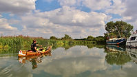 canoeing, Thames, canoeing with kids, radcot, newbridge, cricklade