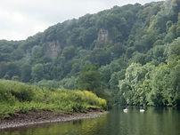 river wye, symonds yat, ross, monmouth, canoeing