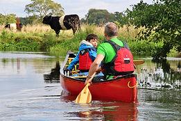 River Wey, canoe, Old Woking
