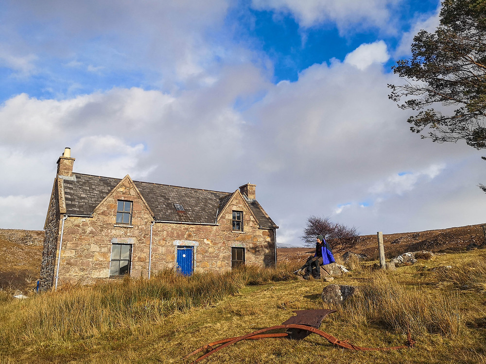 The former SYHA hostel at Craig, now a bothy looked after by the MBA