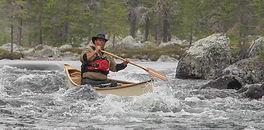 Canoeing, Femundsmarka, Roa, River