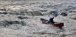canoeing, Usk, Talybont, Mill Falls, Spuhler's Folly, Wales