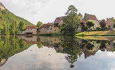 River Cele, France, Brengues, Marcilhac