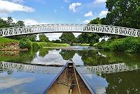 canoeing, river wey, weybridge loop, byfleet, brooklands