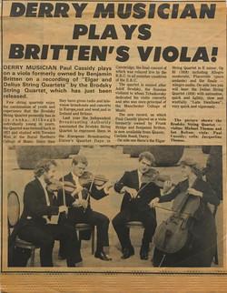 Chapter 23. Ben's Viola