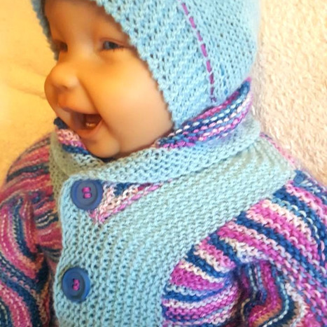 Babyjacke +Mütze