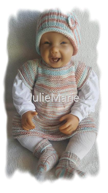Anleitung Baby Kinder Raglankleid Mira