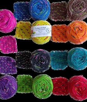 Glühwürmchenfärbung von Julies-Handarbeiten