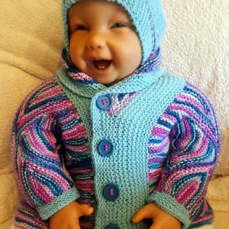 Baby Jacke + Mütze