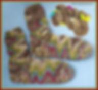 ZickZack Färbung gestrickt Tanja Sparig