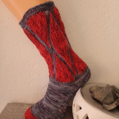 Socken Magyar Zene Art Pro Sockenwolle
