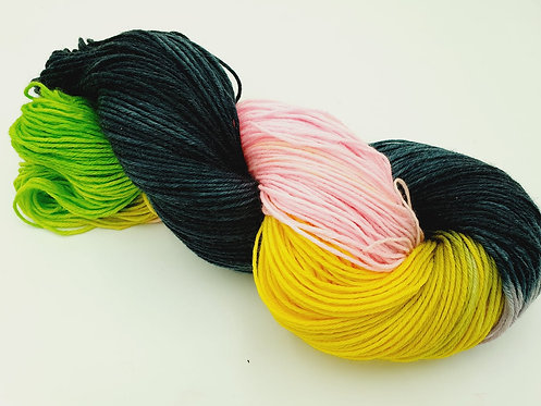 Merino High Twist 150g 4 farbig  6Fach