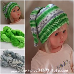 SuSas Mütze Grün
