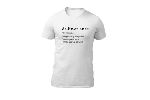 MEN'S T-SHIRT (White/Black)