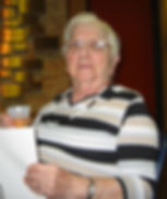 The Author's mother, Mildred Tell, in early dementia.