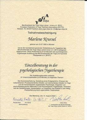 Yogatherapie Köln
