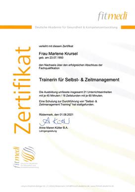 Selbst- und Zeitmanagement Training