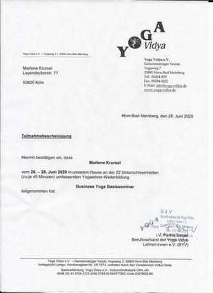 Business Yoga Köln