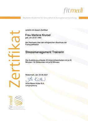 Stressmanagement Training Köln