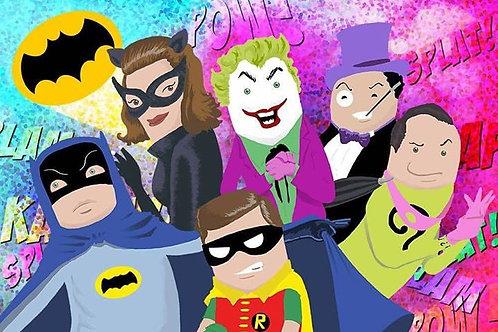 Poster Batman 1966 A3