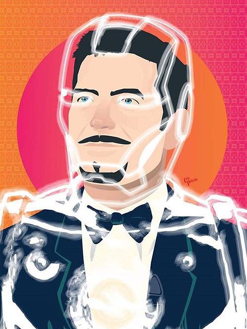 Poster Tony Stark / Homem de Ferro A3