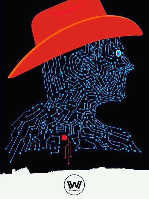 Poster Westworld A3