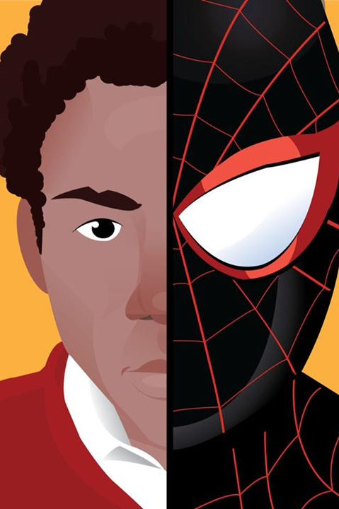 Poster Miles Morales A3