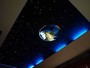 Натяжные потолки звездное небо Минск